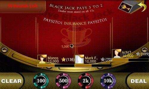 Live BlackJack 21 anemosnaftilos