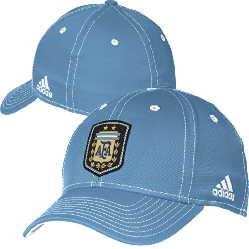 b76ef8390fd Argentina Adidas 2014 FIFA World Cup Structured Flex Blue... https