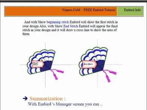 How To Make Your Own Embroidery Designs Using Embird Digitized Embroidery Designs Machine Embroidery Embroidery Software