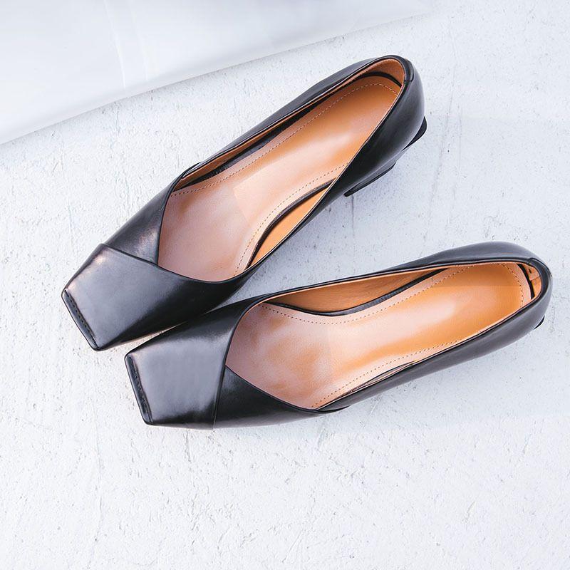 Chiko Hayli Square Toe Block Heels