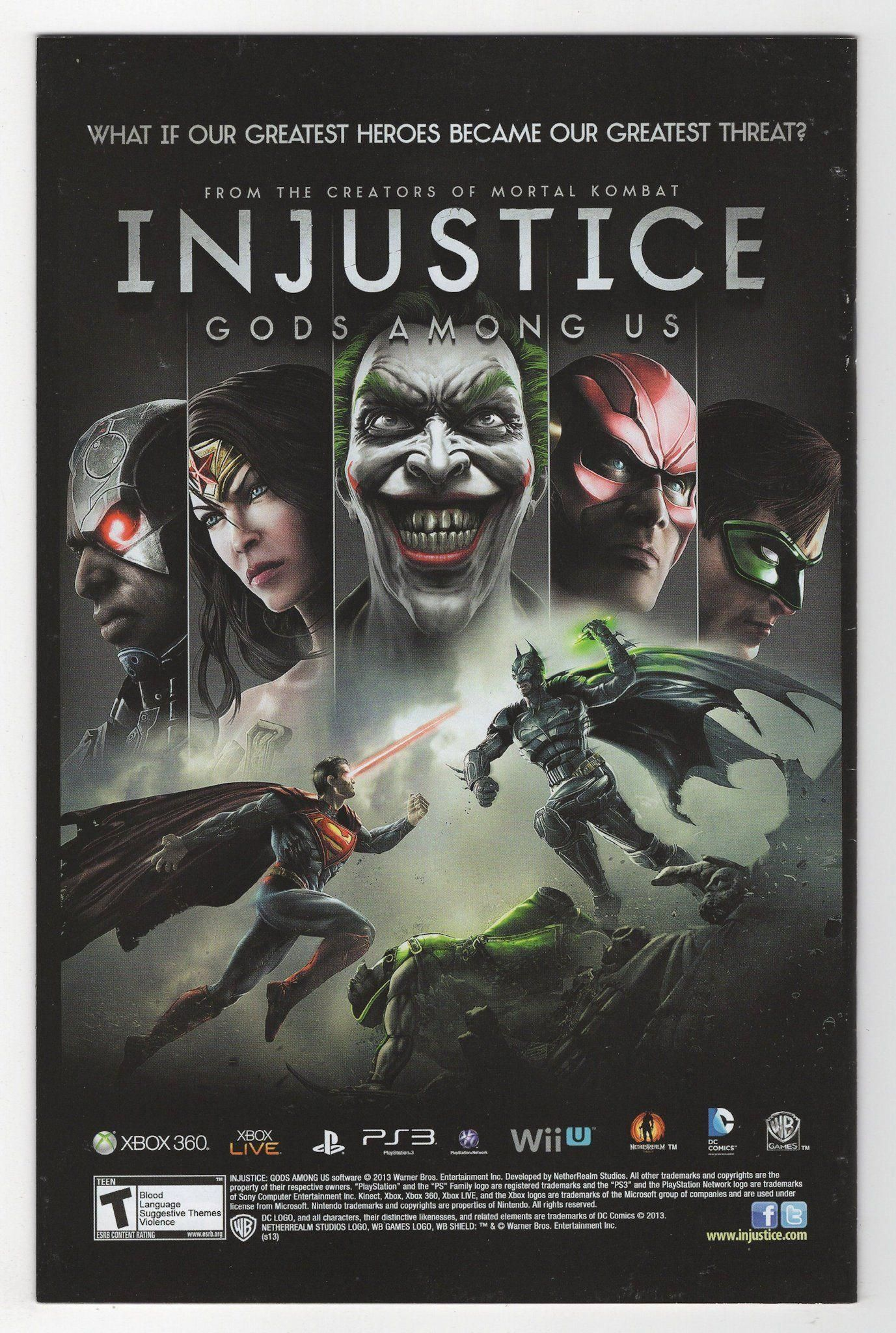 Condition Notes Some Spine Ticks Breaks Scuffed Discolored Spots On Back Cover Publisher Dc Comics Released 2013 Cover Injustice Batman Arkham City Batman