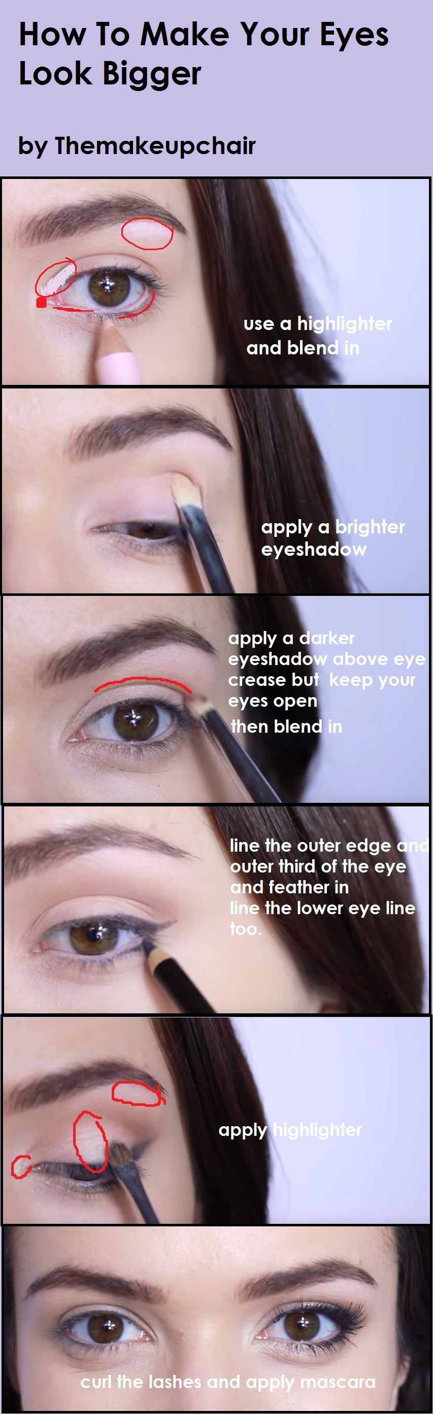 How To Make Your Eyes Look Bigger Self Care Tips Pinterest Eye