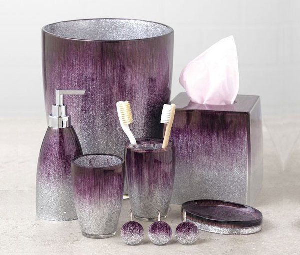15 elegant purple bathroom accessories home pinterest bathroom rh pinterest com
