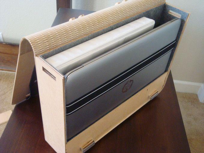 Laser Cut Laptop Case with Living Hinge - Album on Imgur