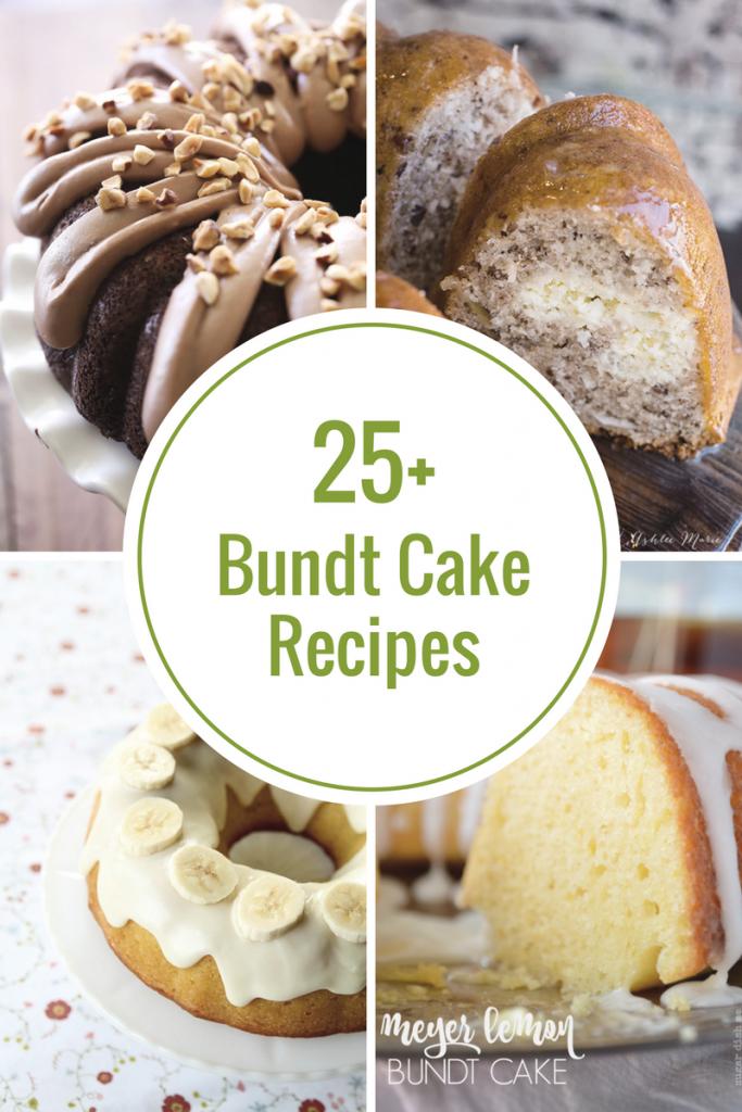 Bundt Cake Recipes Cake Recipes And Creative Birthday Cakes