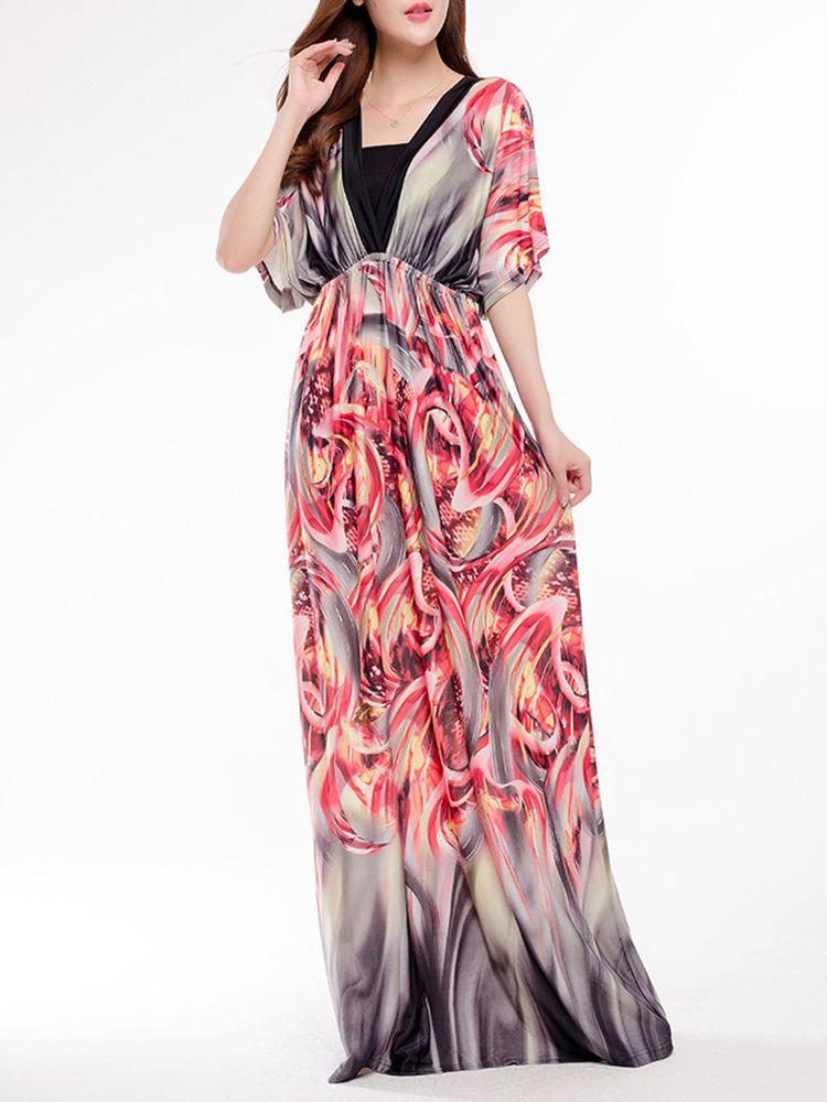 Asombroso Partido Vestido Maxi Ideas Ornamento Elaboración ...