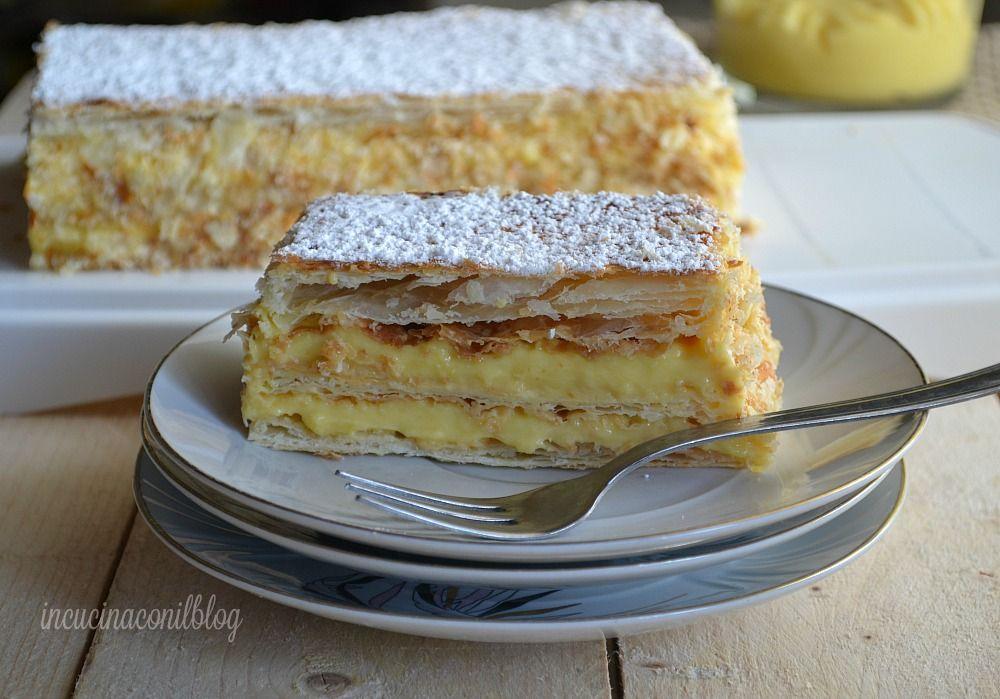 Italian Sfoglia Cake Recipes: Desserts, Biscuit Dessert Recipe