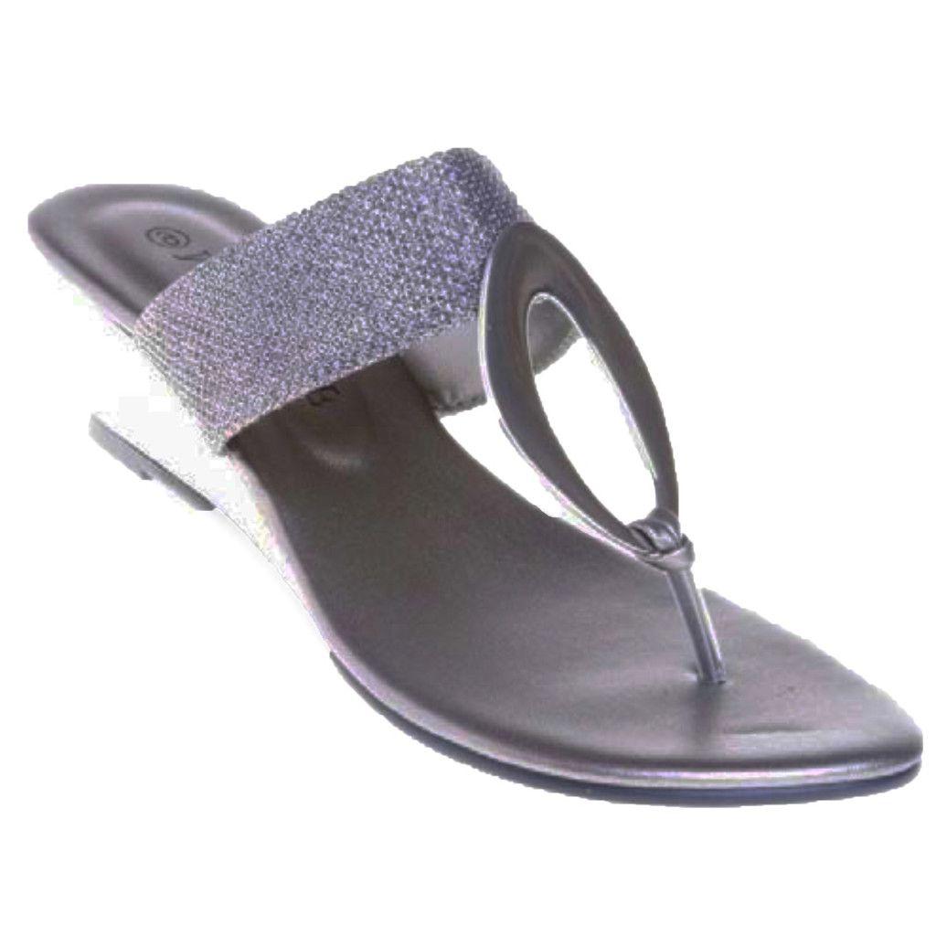 fe246fc0d7e767 Women s wedge Sandal - Flip flops - Large Size women s shoes. www .fancyshoeland.com