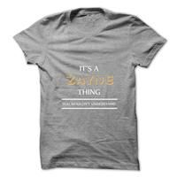 Its An ZAYNE Thing. You Wouldns Understand.New T-shirt