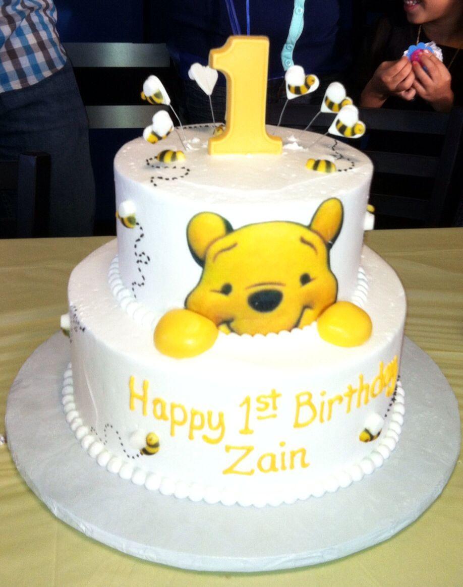 Zains first birthday cake Cakes Pinterest Birthday cakes