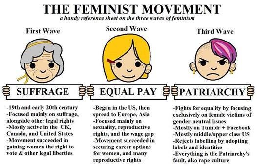 The strive for gender equality by the feminist movement in america
