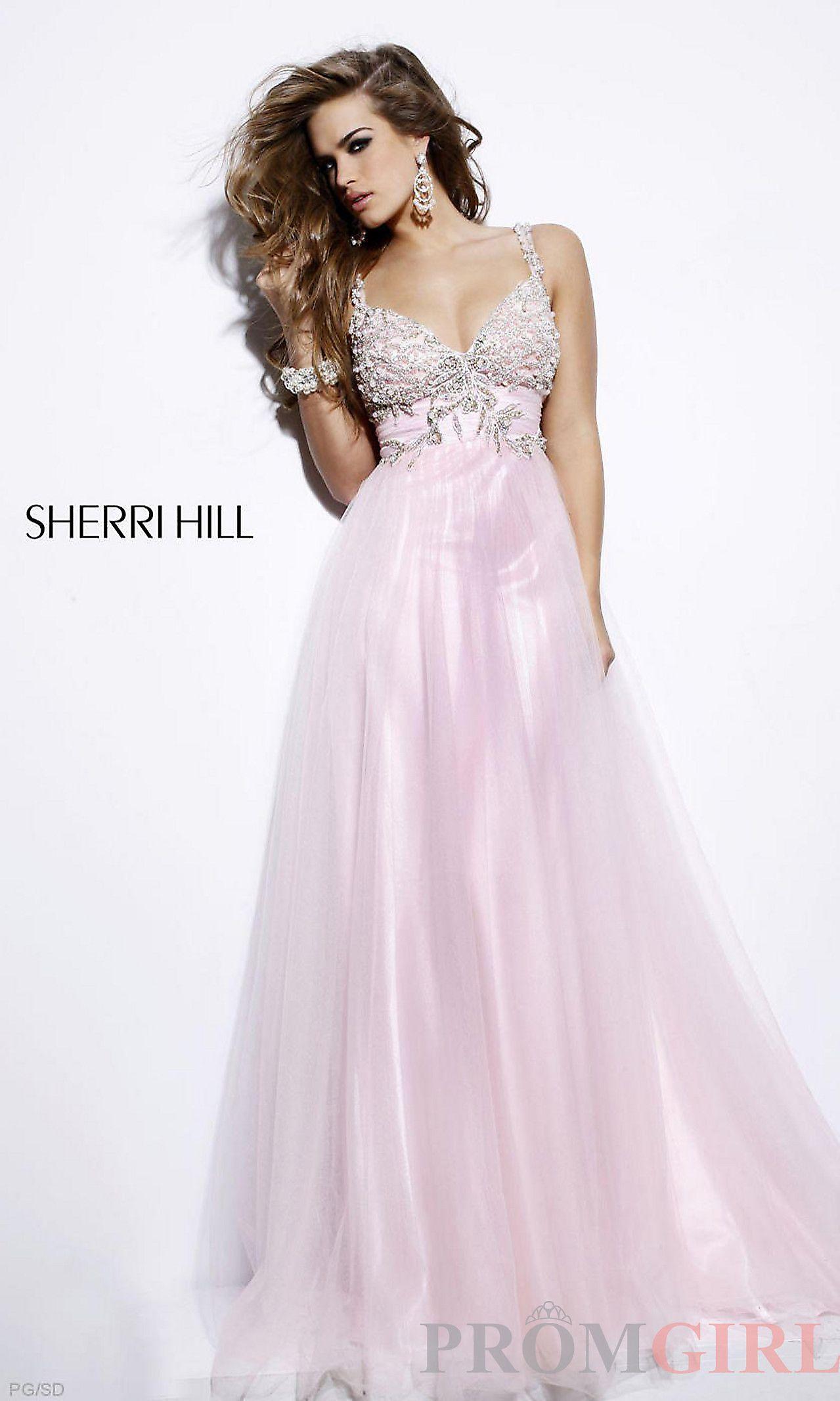 Pink Sherri Hill Prom Dresses 2019