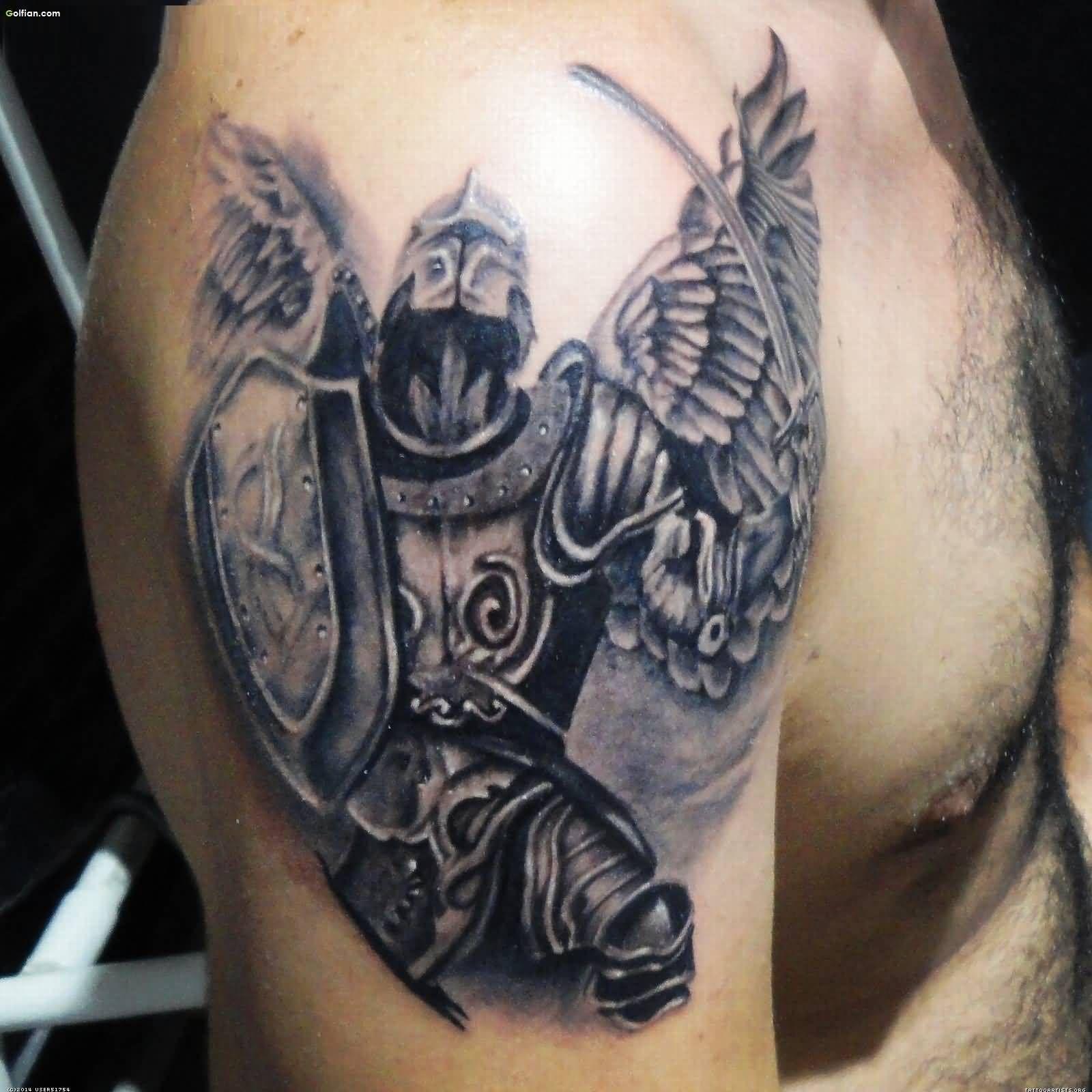 Amazing Angel Warrior Tattoos Ndash Best 3d Angel Fighter Tattoo Designs Warrior Tattoos Angel Warrior Tattoo Fighter Tattoo