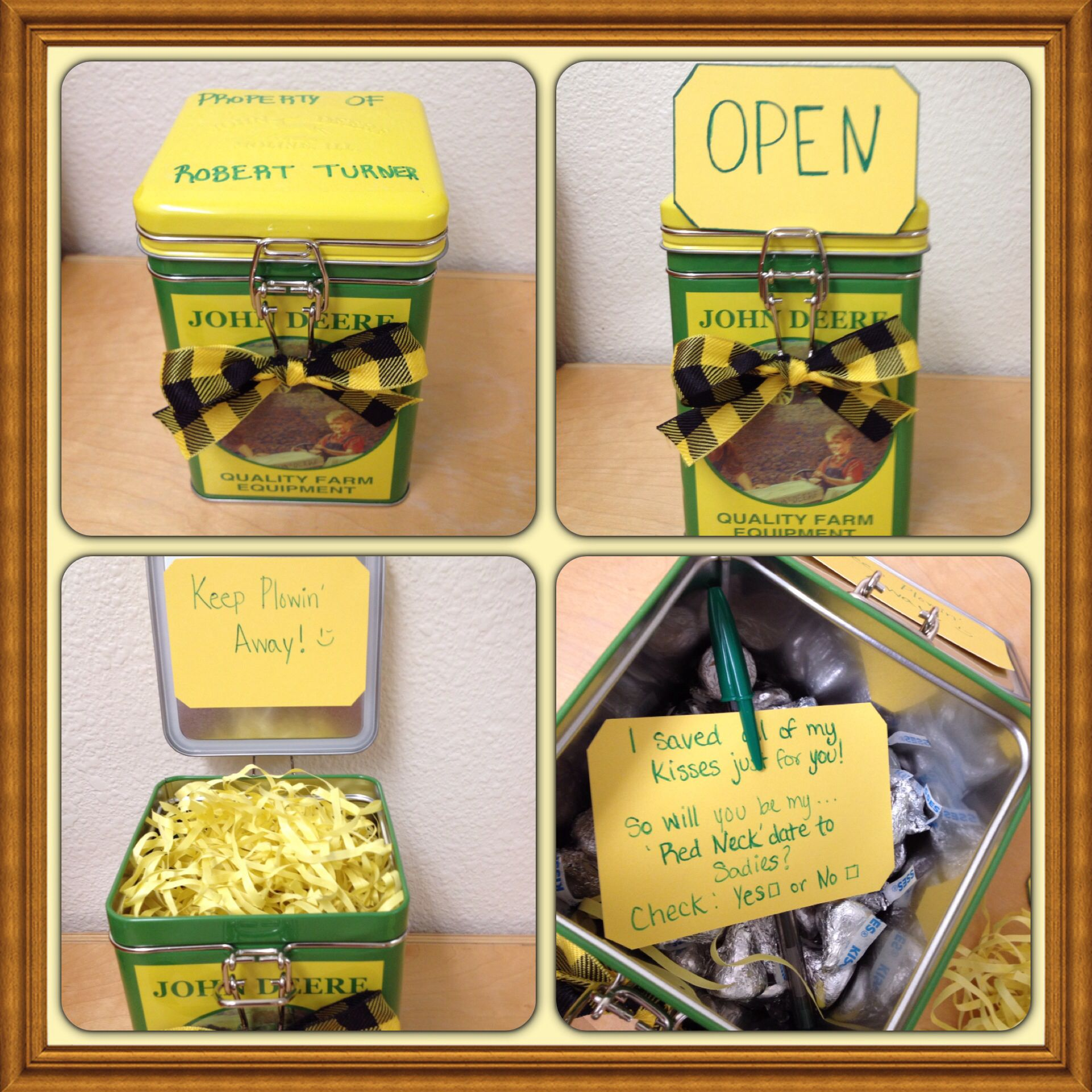 Cute ideas to ask a boy to sadie hawkins - How To Ask A Guy Out For A Sadie S Red Neck Theme