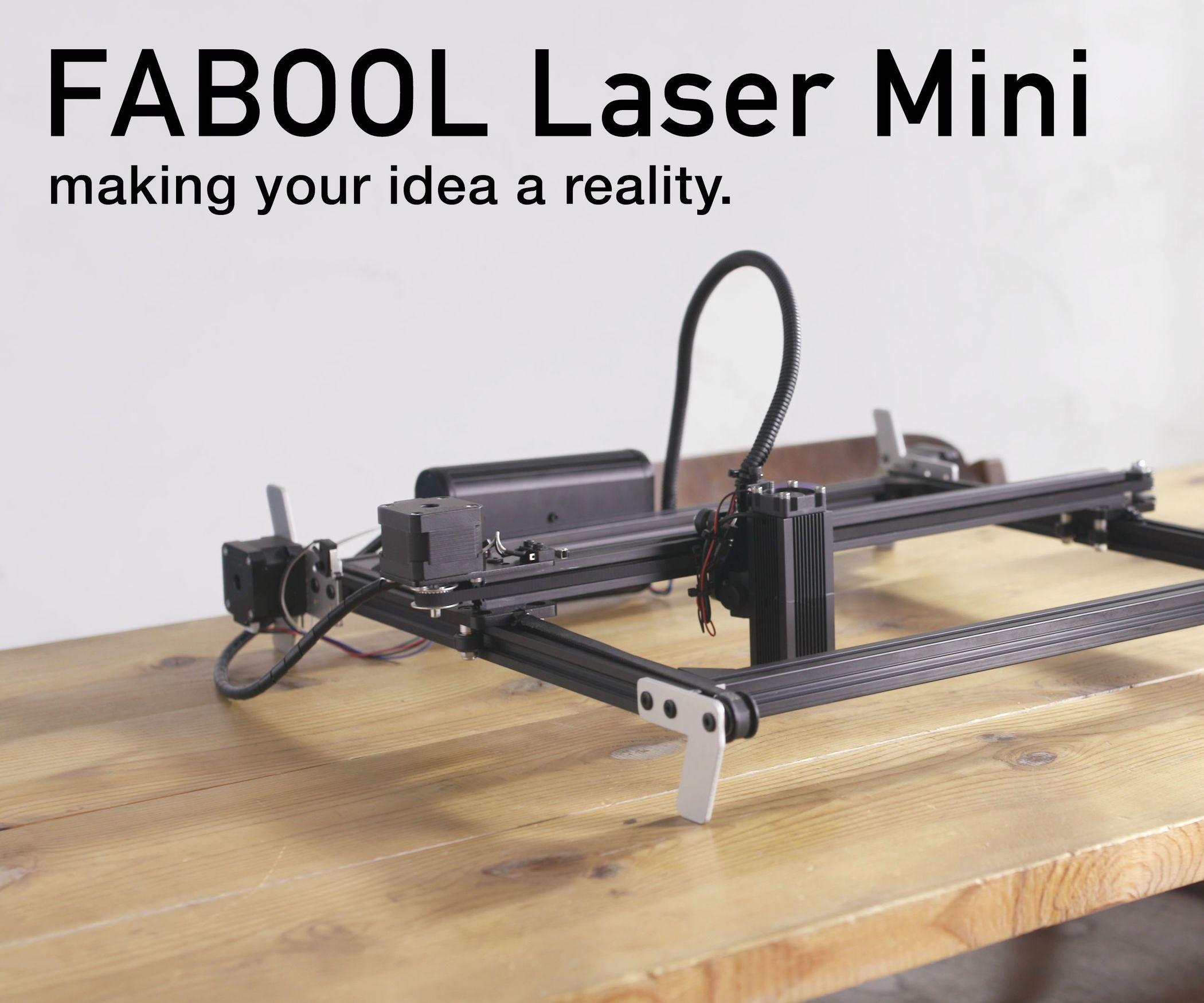 Diy Desktop Laser Cutter And Engraver Fabool Laser Mini Diy Laser Cutter Laser Cutter Diy Desktop