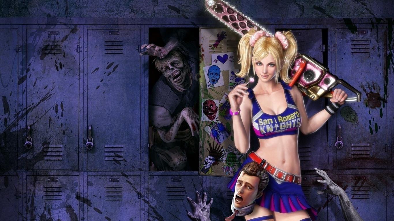 Wallpapers Gamer Girl Lollipop Chainsaw ...
