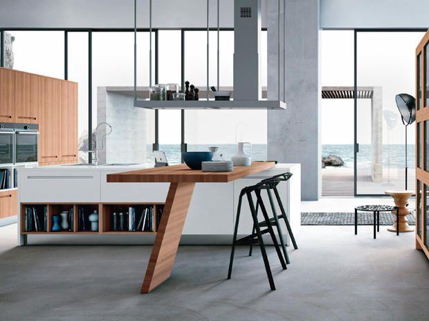 Cucine dalle linee essenziali mcmaison arredo pinterest cucine cucine moderne e cucina - Cucine moderne bellissime ...