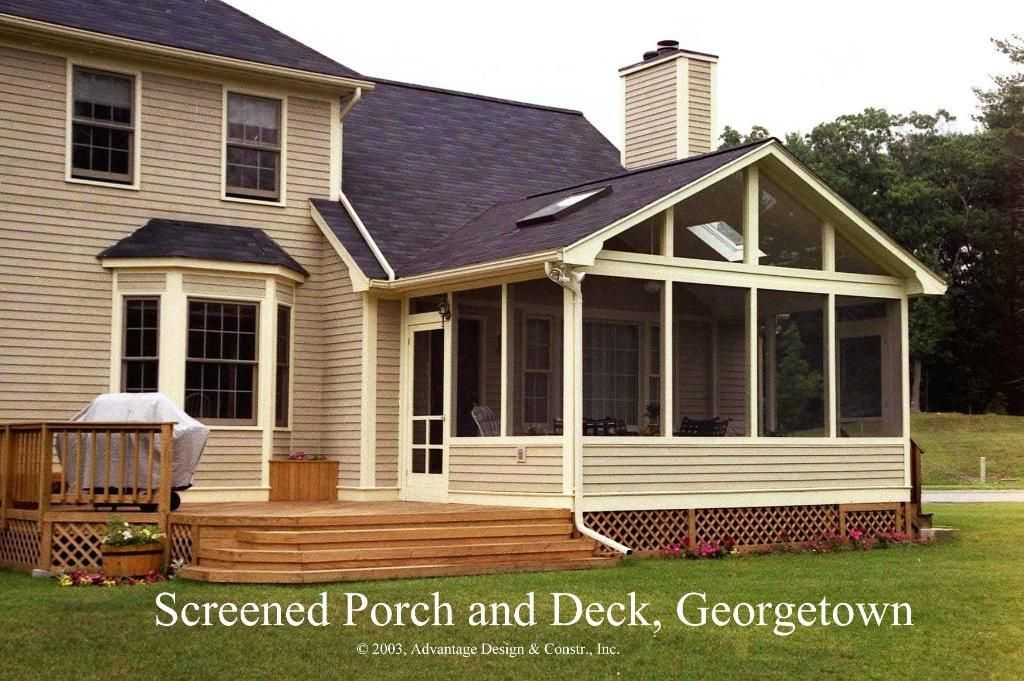 Enclosed Porch Ideas On Pinterest Decks Screened