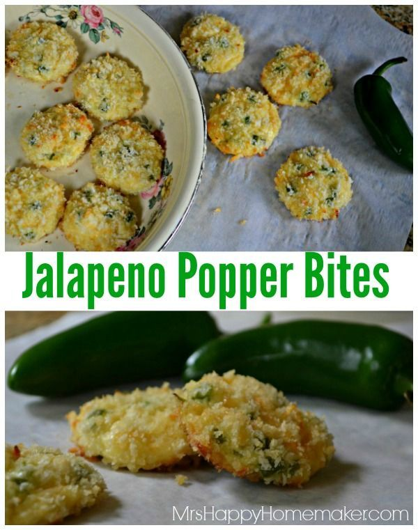 Jalapeno Popper Bites - Only 5 Ingredients! All the flavors of a jalapeno popper without the work!