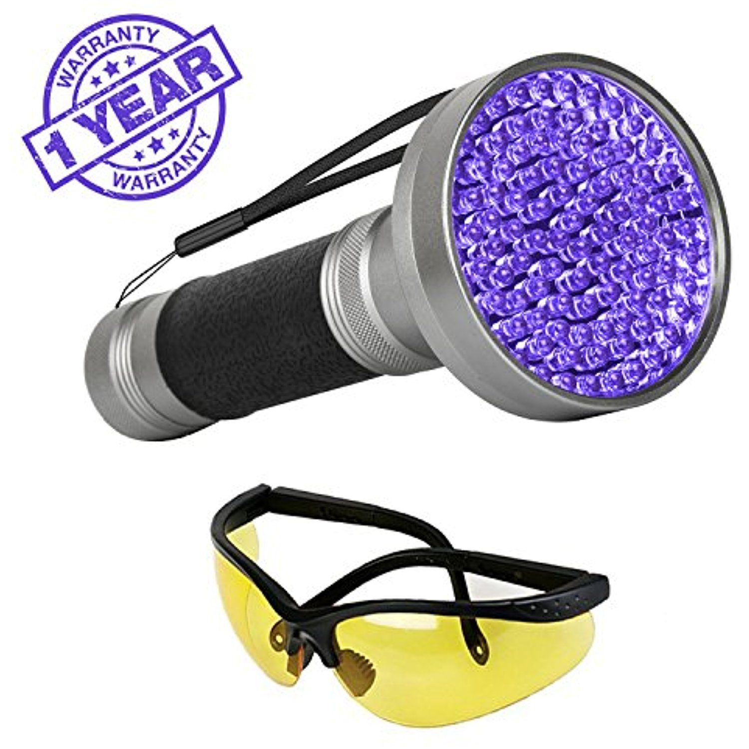 Escolite UV Flashlight Black Light1 LED 395 nM Ultraviolet