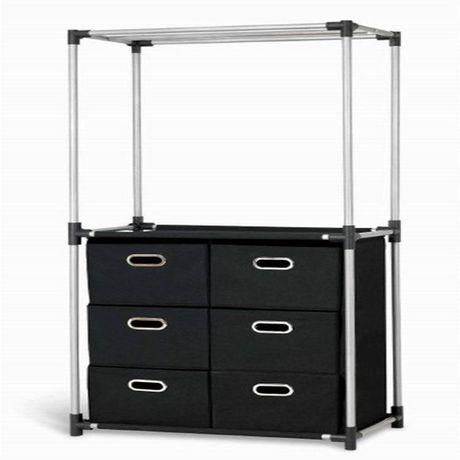 Mainstays Closet Organizer With Storage Drawers Closet