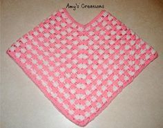 Child's Poncho/ made for 3 yr old but can be adjusted for different sizes/ intermediate / FREE CROCHET pattern