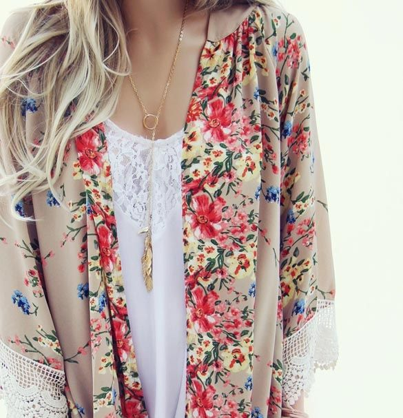 Floral Print Blouse  - buy here: http://www.wholesalebuying.com/product/new-lady-women-s-fashion-floral-print-loose-long-chiffon-cardigan-top-blouse-106481?utm_source=pin&utm_medium=cpc&utm_campaign=ZYWB4