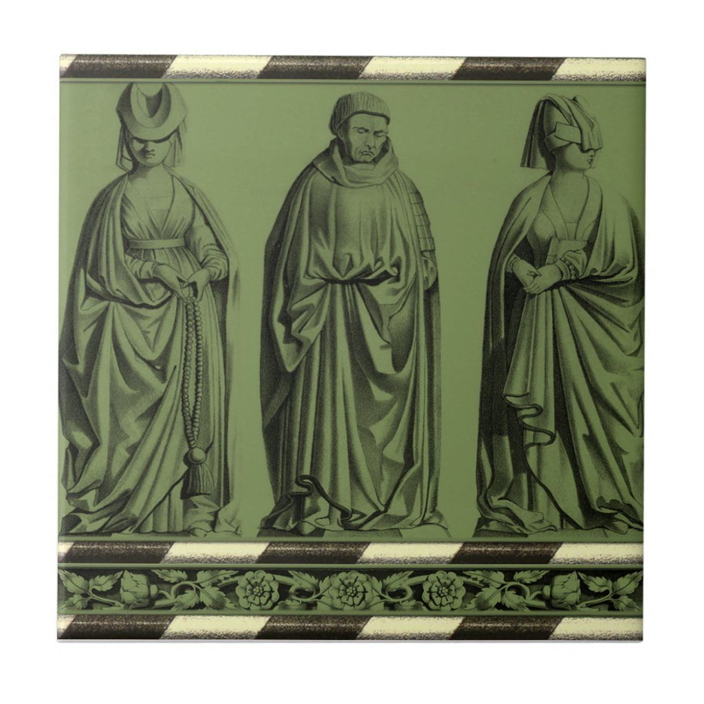 Gothic Home Decor-Gothic Tile-Kitchen Backsplash Ceramic Tile #gothichome