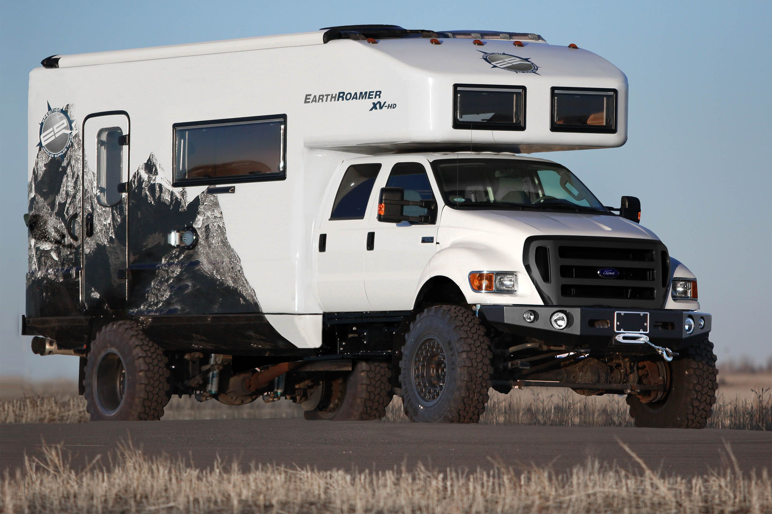 The Ultimate f Road RV For the Redneck in all of us EarthRoamer