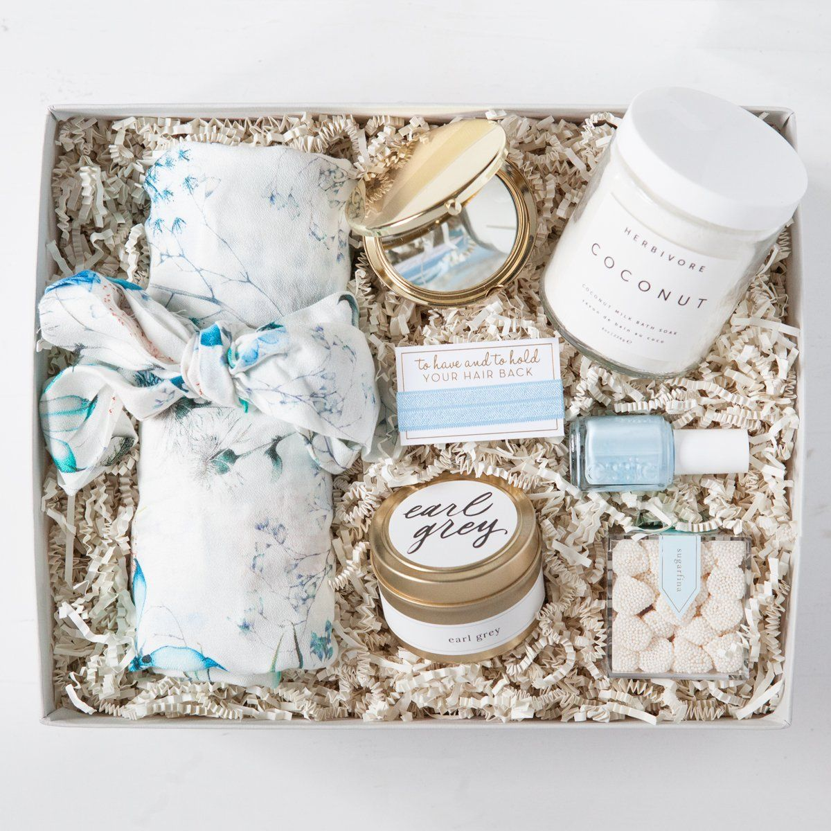 bridesmaid gifts, bridesmaid gift box, luxury floral