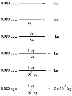 Metric conversions made