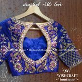 Photo of Bridal Blouse with beautiful handwork. For brides & sister. Maggam work blouse. …