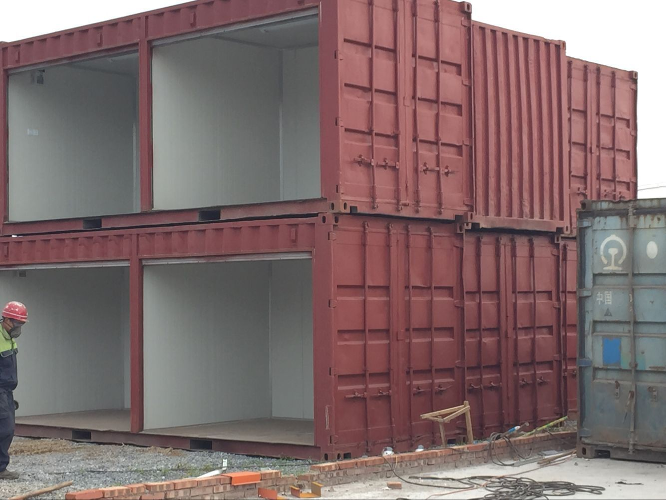 Best Kitchen Gallery: Simple Shipping Container Shop Store Made Of By Used 20 Feet of 20 Foot Shipping Container Cost on rachelxblog.com
