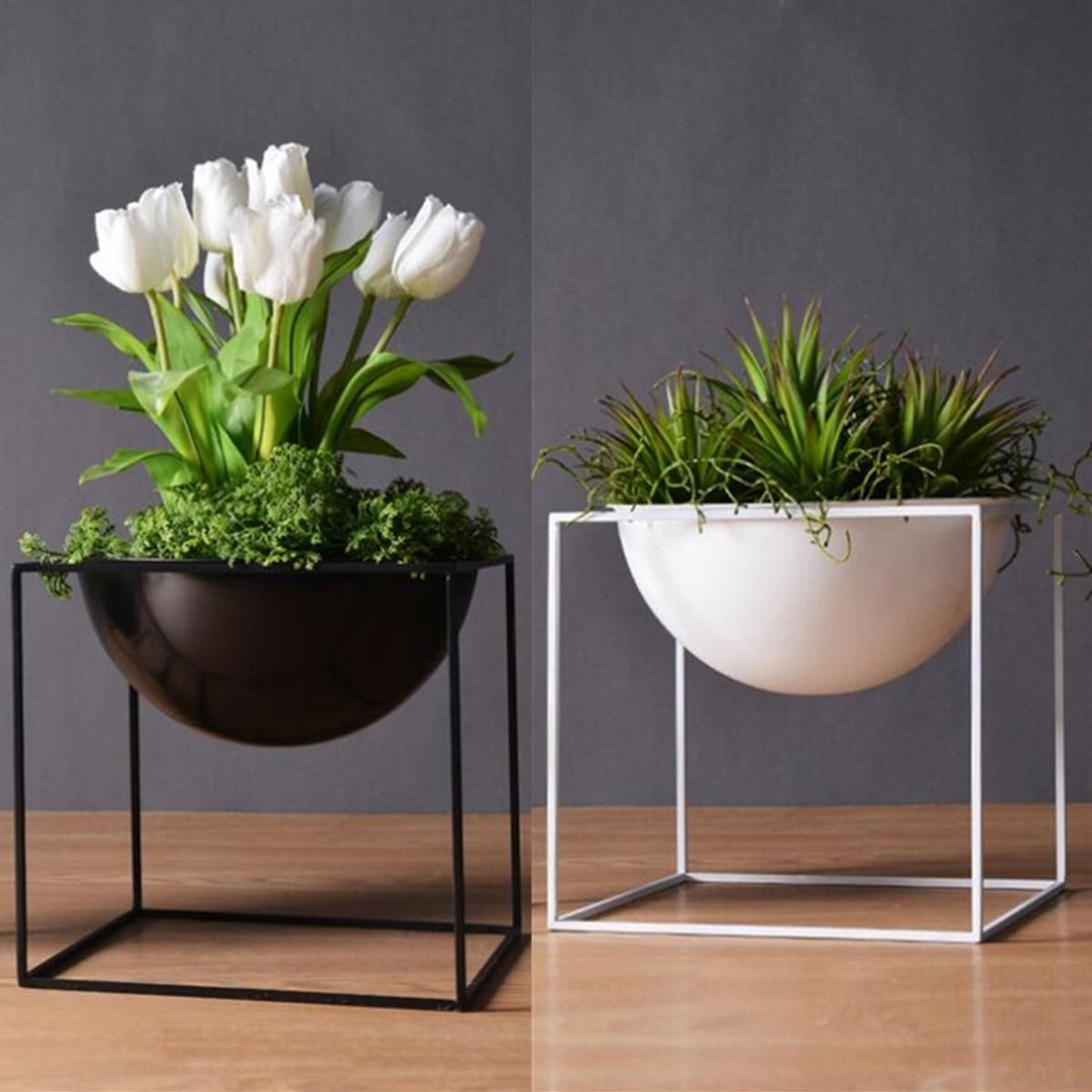 Planter Lys En Pot 37 99 20cm Flower Pot Holder Metal Pot Stand Planter Garden Home