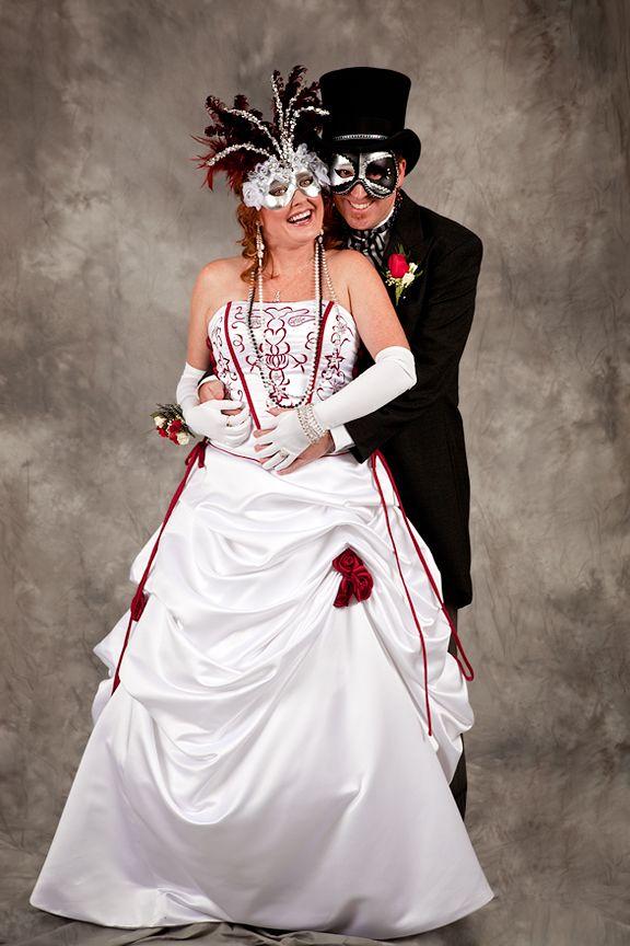 Fantasy Elegant Masquerade Ball Wedding Masquerade Wedding Theme