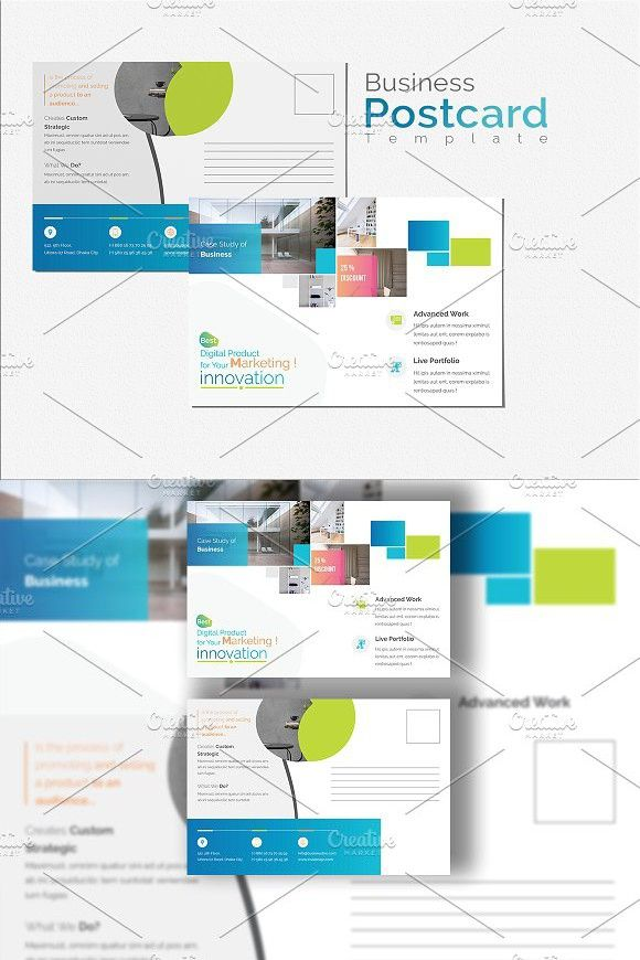 Business postcard template best card templates pinterest business postcard template best card templates pinterest postcard template templates and card templates wajeb Image collections