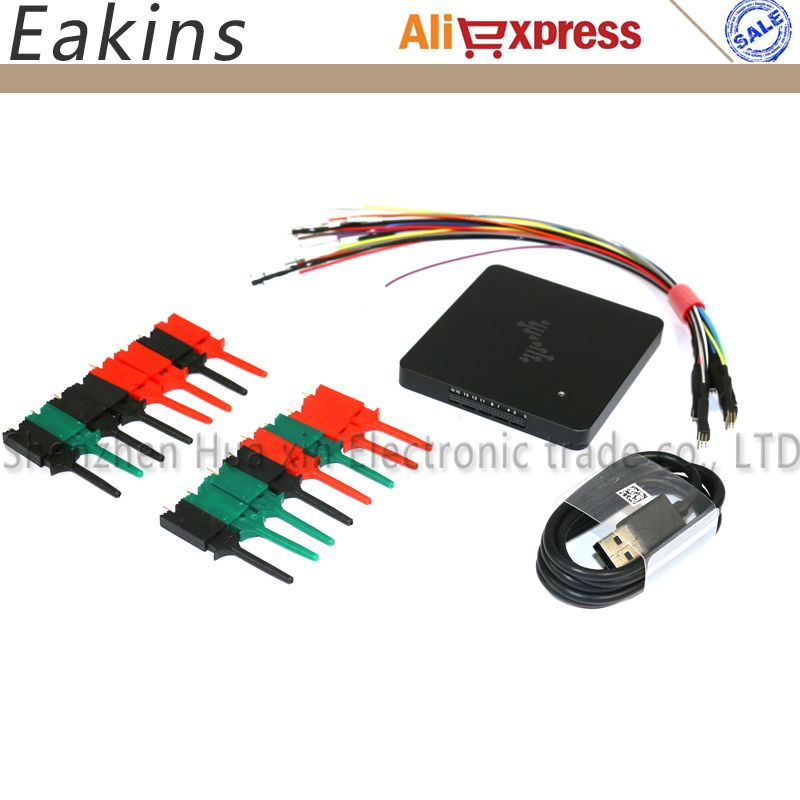 PC USB-based Analog Virtual oscilloscope 16 CH Logic Analyzer