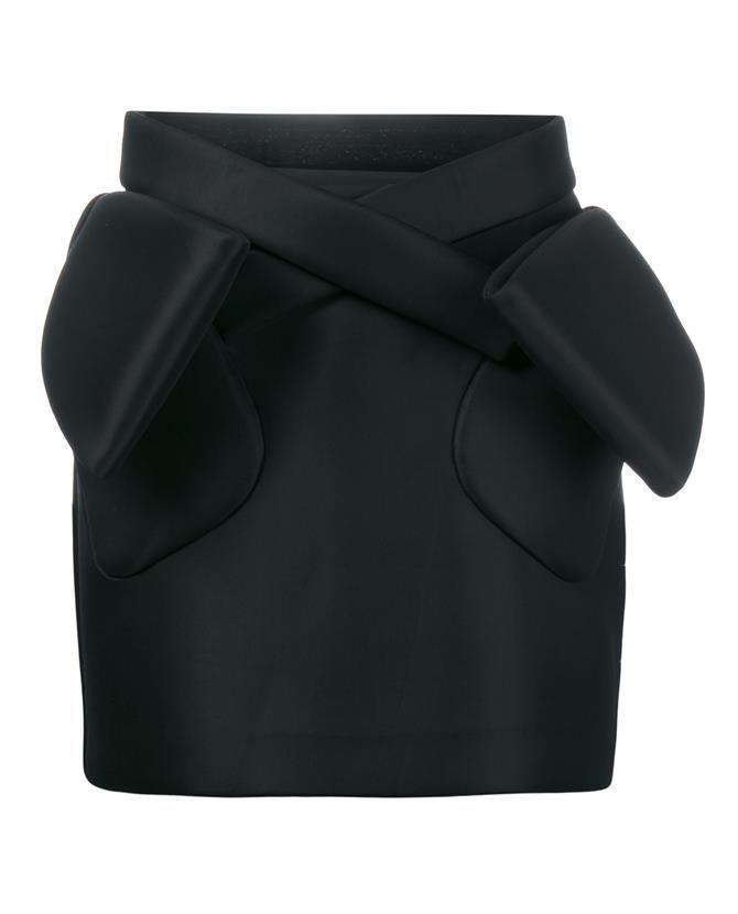 SIMONE ROCHA Bow Embellised Mini Skirt. #simonerocha #cloth #