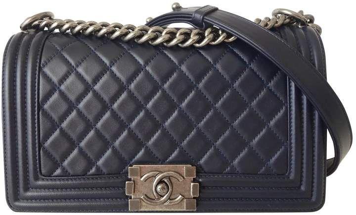 de123906 Chanel Boy leather handbag | Shop the look products | Chanel, Chanel ...