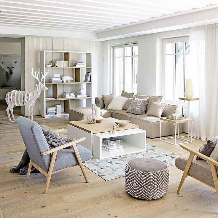 Muebles y decoración de interiores – Contemporáneo | Maisons du ...