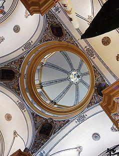 Ricote - Parroquia de San Sebastián (cúpula)