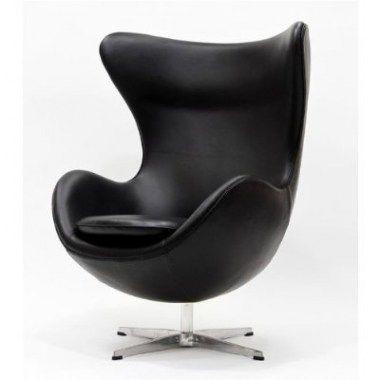 Fauteuils : Egg Chair Cognac Leer