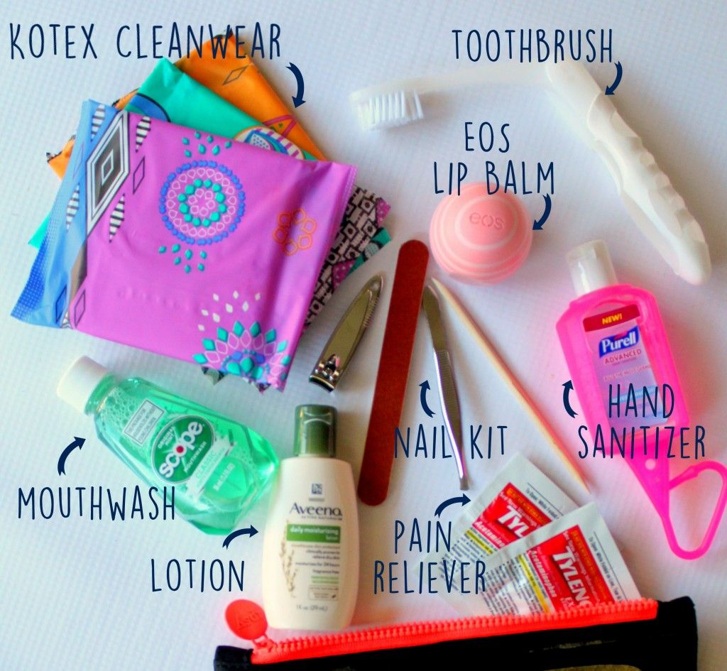 Back To School Teacher Survival Kit With U By Kotex