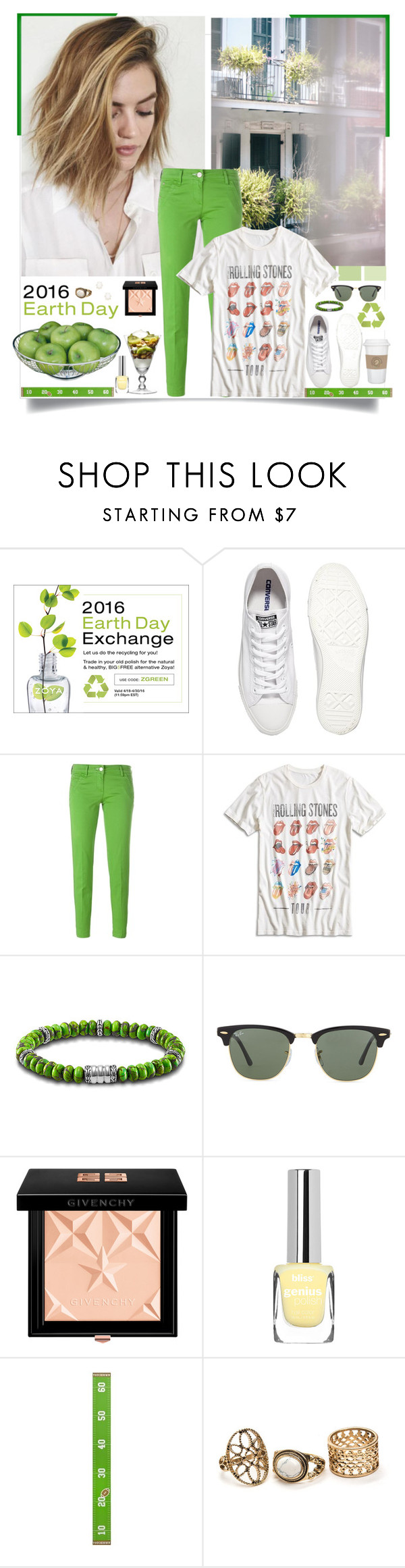 """""""Ecology in mind ^ (17.2)"""" by red-fashion ❤ liked on Polyvore featuring Zoya, Thomsen Paris, Converse, Jacob Cohёn, Lucky Brand, John Hardy, Ray-Ban, Givenchy, Kendra Scott and crazyforfashion"""