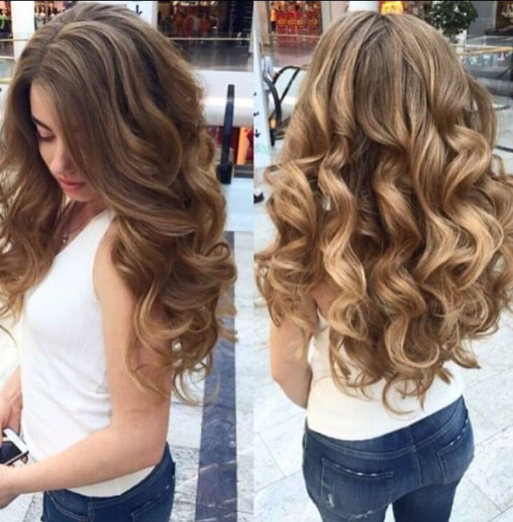 How To Curl Long Thick Hair Curls Curls Curls I Do Adore