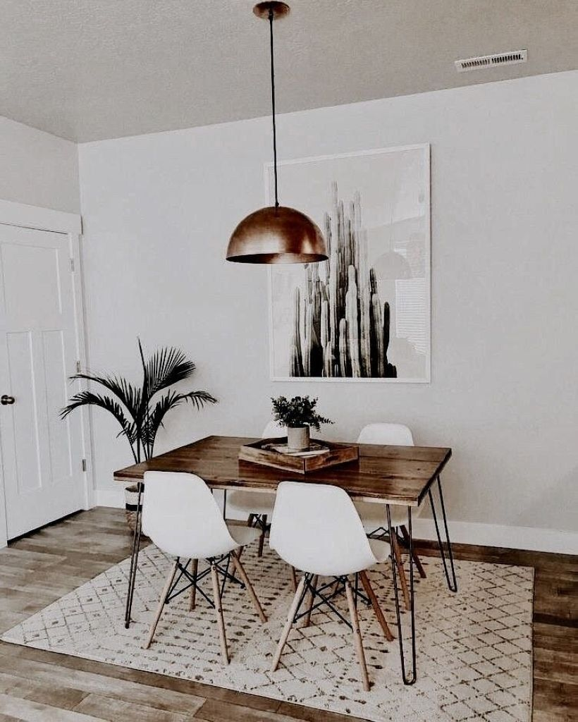 47 Neat And Cozy Living Room Ideas For Small Apartment Rengusuk Com Minimalist Dining Room Decor Minimalist Dining Room Dining Room Small