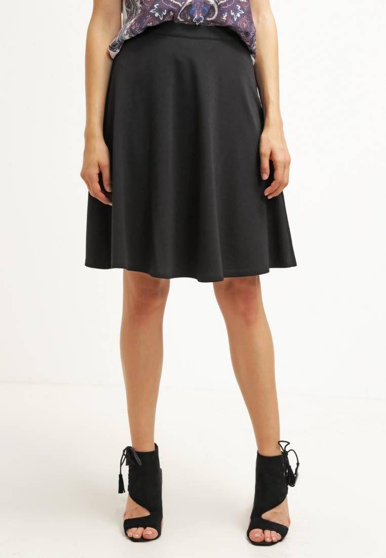 d7ec9a74 Spódnica trapezowa - black | Zalando ♥ Spódnice plisowane | Formal ...