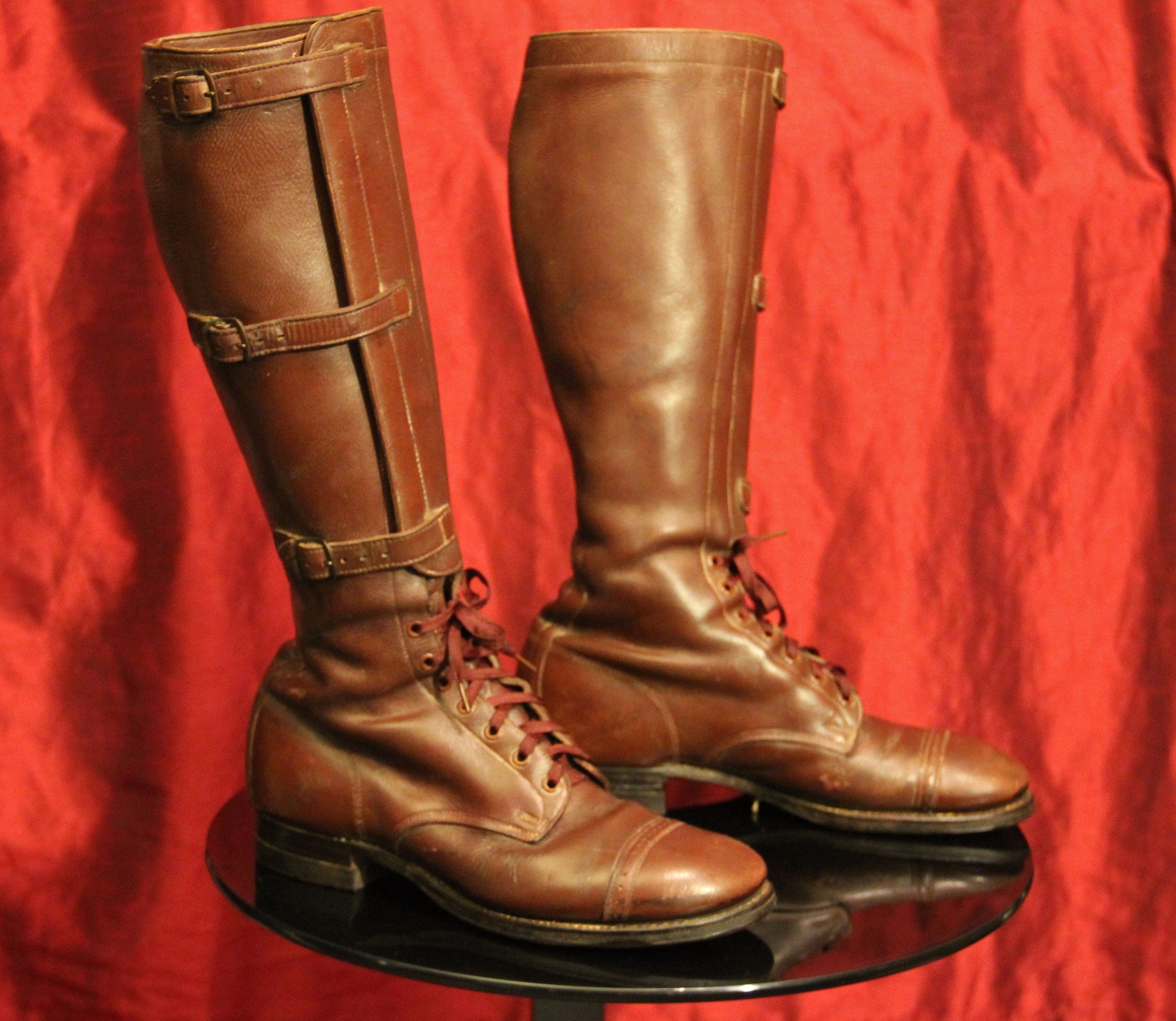 WWII (1941-dated) US Army Cavalry Boots