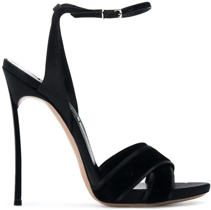 4f4cb9c1bb Casadei crossover strap sandals, , black heels, black high heeled sandals  with ankle strap, sandal heels, gorgeous dressy heels! Classic yet elegant  ...