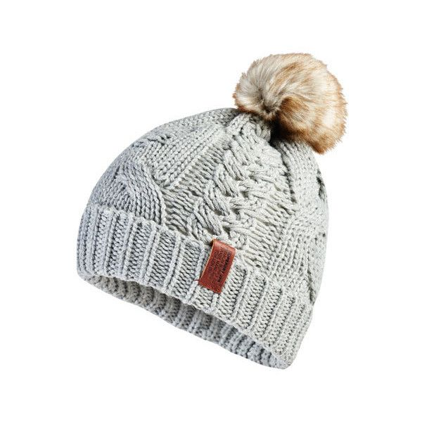 Superdry North Cable Beanie ( 25) ❤ liked on Polyvore featuring  accessories 82a75b3f8f59